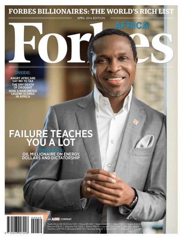 Tonye's picture on Forbes