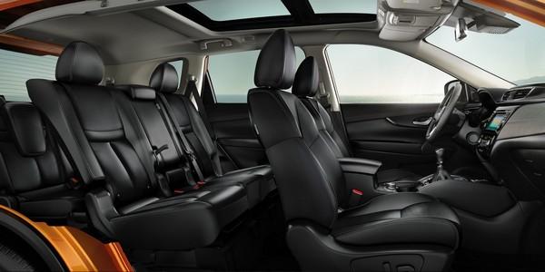 Nissan X-Trail's interior