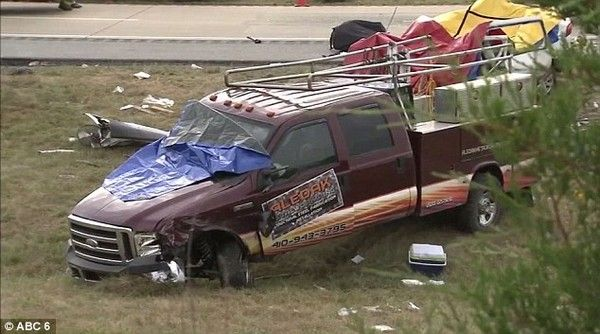 the truck that caused that accident