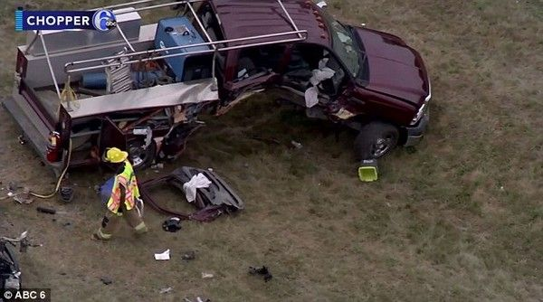 the truck in the accident