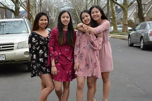 4 girls killed in the horrific accident