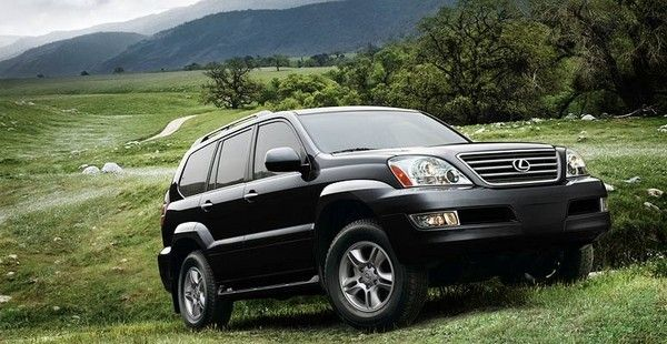 Lexus GX470 with modern equipment