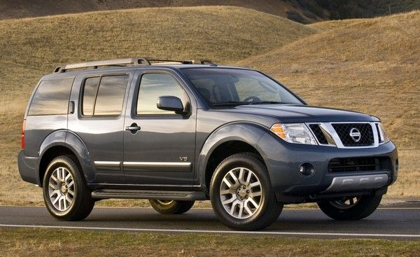 Nissan Pathfinder in mid-size body style
