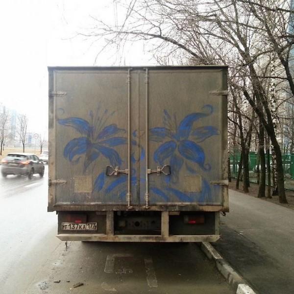 dirty truck art