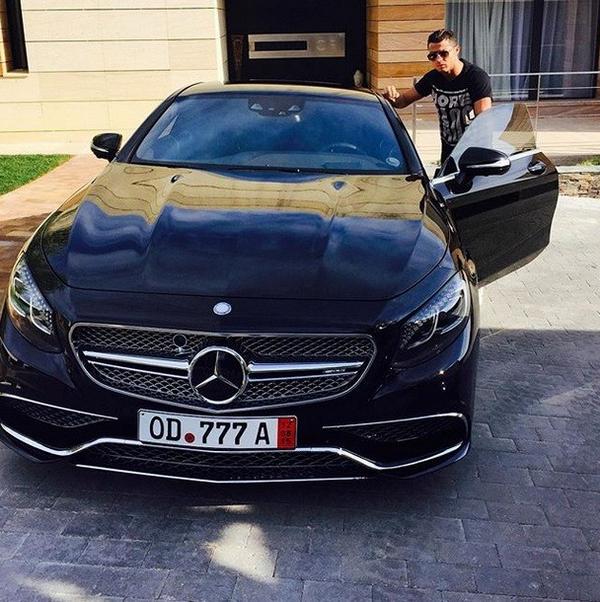Ronaldo's Mercedes S65 AMG Coupe
