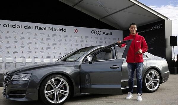 Ronaldo's Audi S8