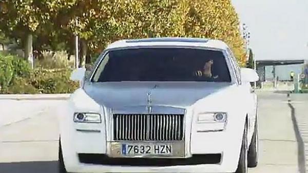 Ronaldo's Rolls-Royce Ghost