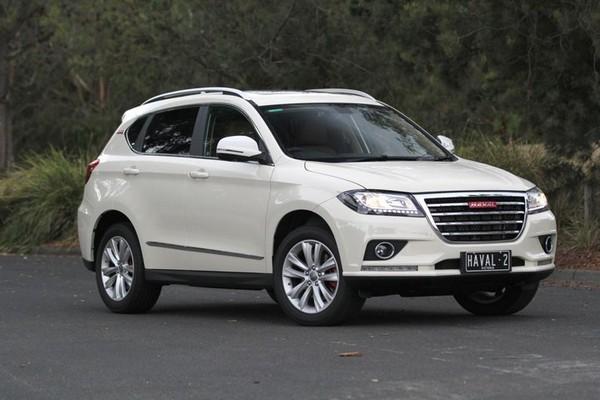 car in white color