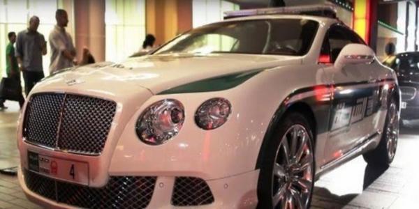 Dubai Police's supercars