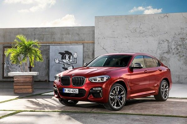 BMW X4 overall design