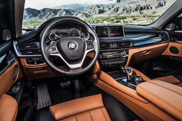 BMW X6 cabin deco