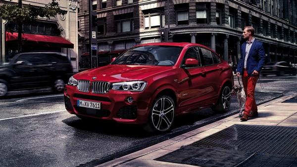 BMW X4 angular front