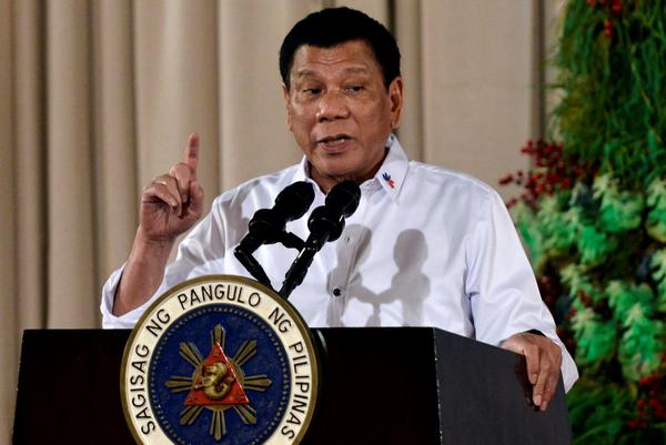 Rodrigo Duterte, President of  the Philippines