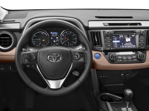Toyota RAV4 cabin design