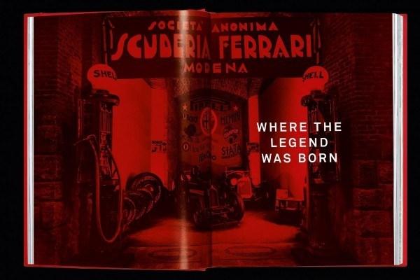 Ferrari book for foundation year celebration