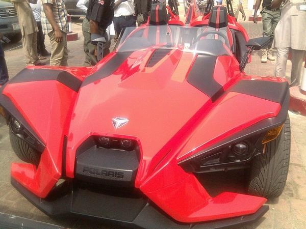 Senator Dino's car