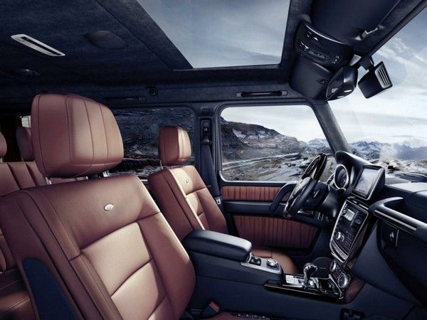 interiors inside a Mercedes Benz car