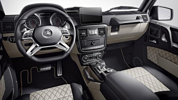 interior of the Mercedes-Benz G-65