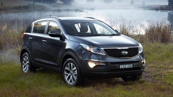 Kia Sportage with Tiger Nose design