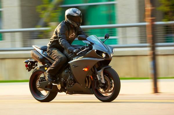 a man riding sport bike