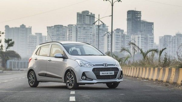 Hyundai i10 car overall design