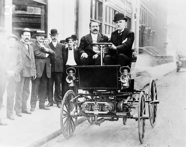 the first gas-powered car
