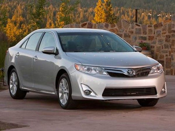 silver Toyota Camry model year 2012