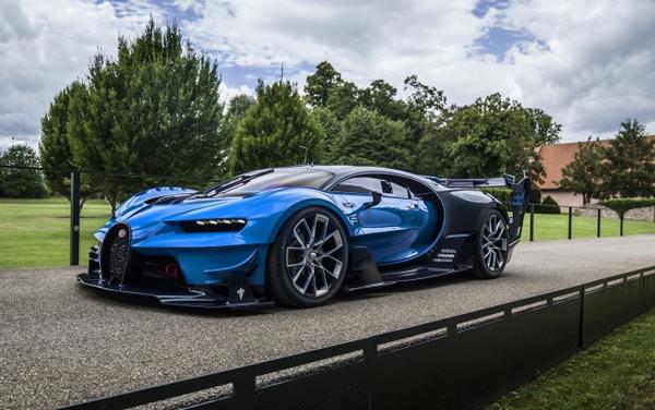 angular front of the Bugatti Divo