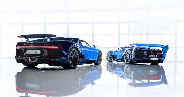 angular rear of the Bugatti Divo