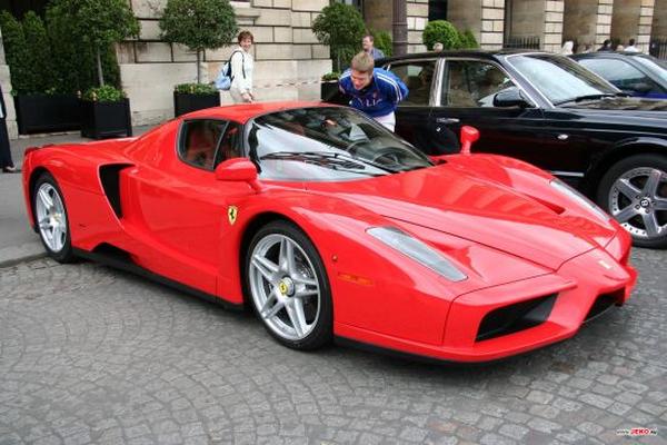 Ferrari Enzo ibrahimovic is having