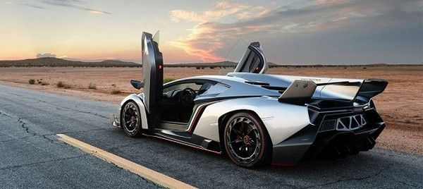 Lamborghini Veneno rear end