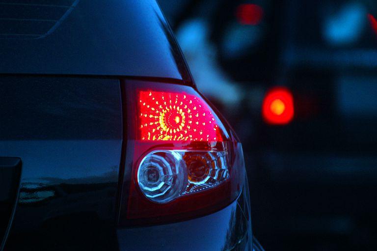 a car signal light