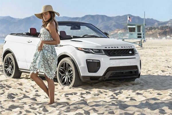 Range Rover Evoque and Naomi Harris