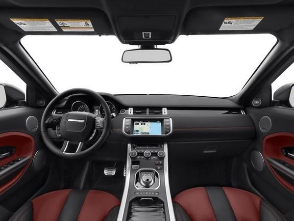 Interiors in Range Rover Evoque 2015