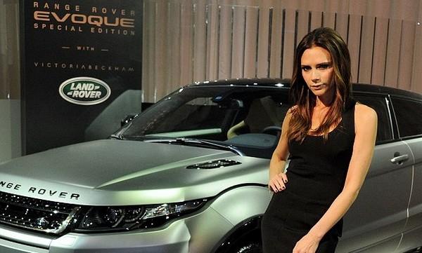 Range Rover Evoque and Victoria Beckham