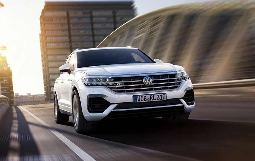 a white Volkswagen car