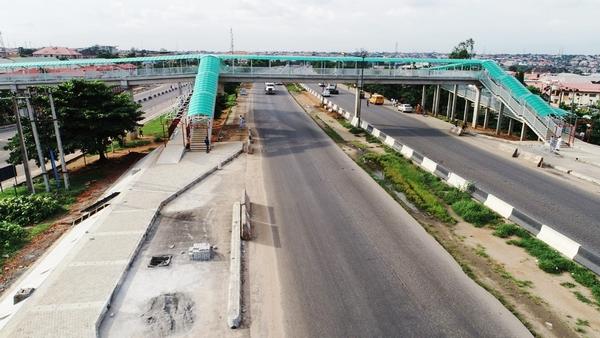 Pedestrian Bridge in Lagos State, Nigeria