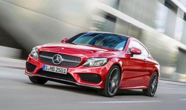 how much is a red Mercedes C300 4matic?
