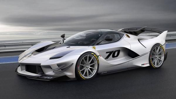 an FXX-K evo from an angular front look