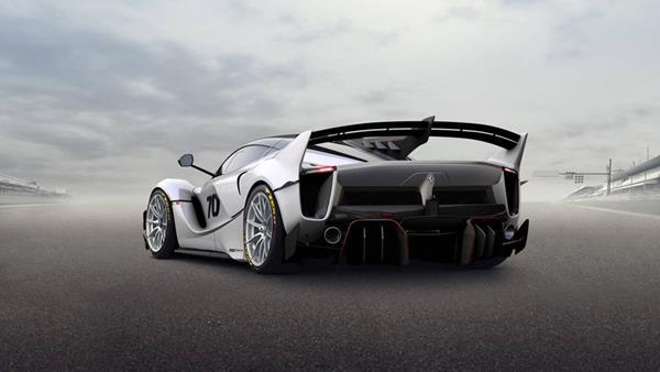 the FXX-K angular rear
