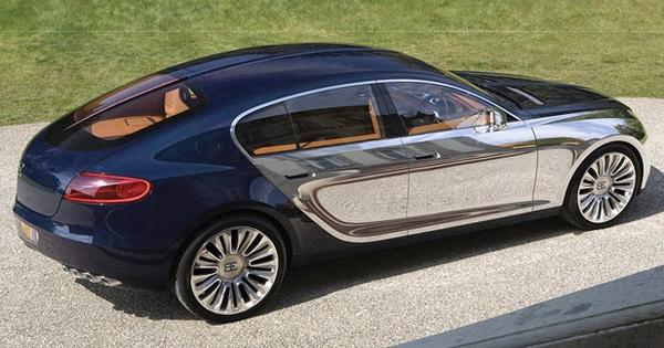 angular rear of the Bugatti 16C Galibier