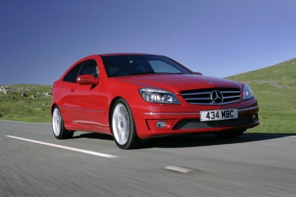 what is the price of red Mercedes CLC Class?