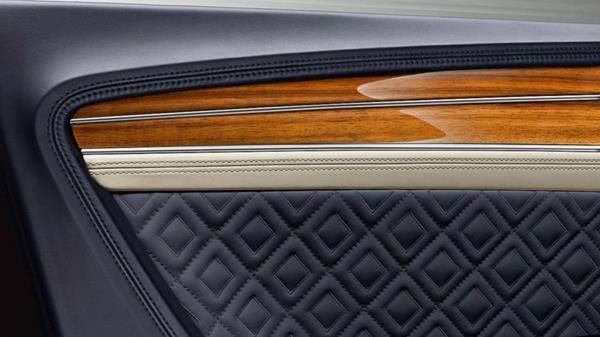 Bentley Continental GT's diamond in diamond pattern
