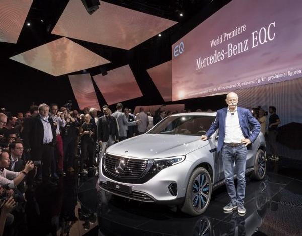Mercedes-Benz EQC 400 4MATIC makes its debut