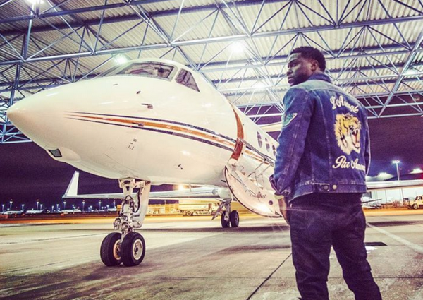 Kevin Hart and his private jet