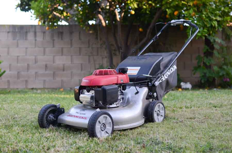 a Honda lawn mower
