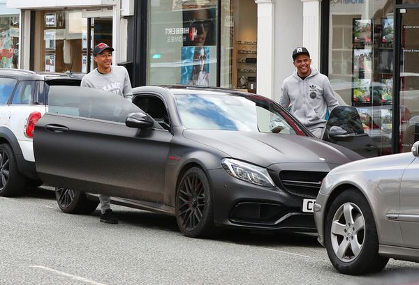 Picture of his Mercedes-Benz AMG C63 S Coupe   car