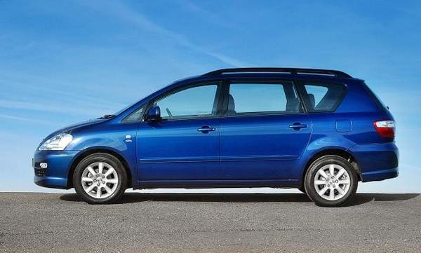 a blue Toyota Picnic