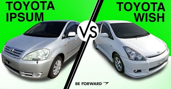 Toyota Picnic and Toyota Wish