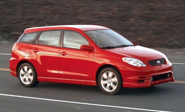 a read Toyota Matrix 2003